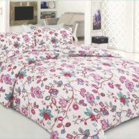 Flanellist voodipesukomplekt